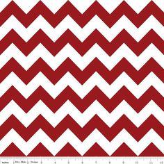 Crimson Chevron Medium C320-85 from Riley Blake Fabrics 1/2 yard