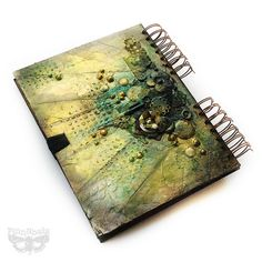 """*Prima* - FinnJournal ;) - """"Spell Book"""" by finnabair, via Flickr"""