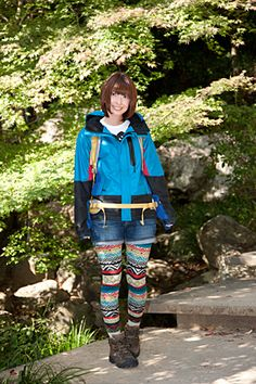 Yama (Mountain/Hiking) girl fashion