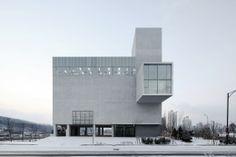 Nombre/ RW Concrete Church.  Arquitecto/ NAMELESS Architecture. Ubicación/ Byeollae, Corea del sur.  Año/ 2011-2013. Fotografía/ Rohspace - NAMELESS.