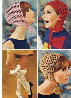 Crochet helmets