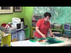 Free Art Lessons Rae Woolnough - she makes it look so easy! Great video.