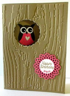Jenfa Cards: Search results for Birthday Owl