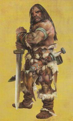 Dwarven Barbarian