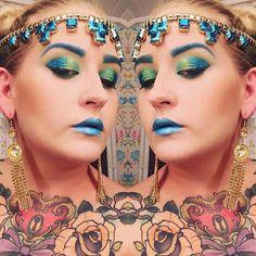 #creative #sorceress #queen #fun #glitter #mua #makeup #makeuplook #lotd #look #beauty #eyemakeup #eyebrows #eyeliner #eyeshadow