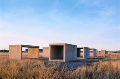 Donald Judd, 15 untitled works in concrete, The Chinati Foundation, Marfa, TX Marfa Texas, How To Buy Land, American Artists, Art World, Installation Art, Trees To Plant, Contemporary Artists, Concrete, Backdrops