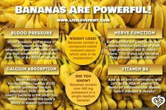 Nutrients in Bananas - Bananas are a fantastic source of potassium as well as vitamin B6