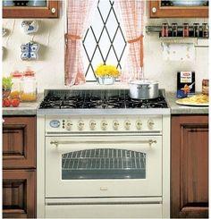 תנור אפיה משולב 90 סמ ILVE דגם: P906NMP