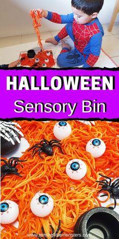 Halloween Rainbow 2020 For Pre-Schooler 500+ Best Sensory Table Fun images in 2020 | sensory bins, sensory