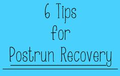 6 Tips for Faster Run Recovery This article also has some other great links attached to it (stretching/yoga for runners)