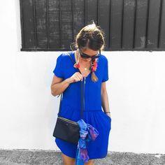 Spotted on instagram: Un brin d'été avec la petite robe indigo (RAVENSWOOD) #PE16 #SudExpress