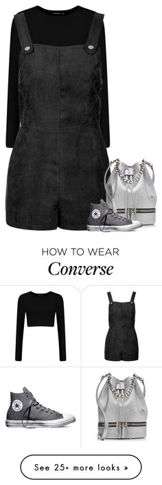 """""""Angel"""" by fanny483 on Polyvore featuring mode, Topshop, MANU Atelier, Converse, women's clothing, women, female, woman, misses en juniors"""