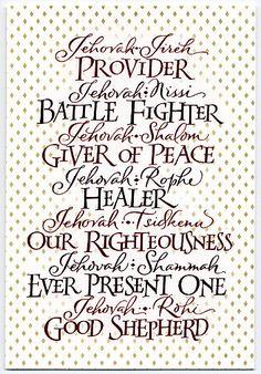 Jehovah Jireh Provider
