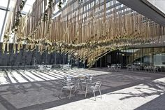 Conceived as a living, kinetic sculpture nested within the courtyard of the Contemporary Art Museum of Saint Louis, Missouri, United States