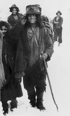 * Kalderari children in winter. The beginning of 1940s.*