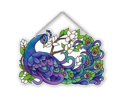 www.joanbaker.com --- I want this one also. $23.00 --- Suncatcher-SSE1008R-Peacock - Peacock