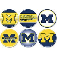Michigan Wolverines buttons #UltimateTailgate #Fanatics