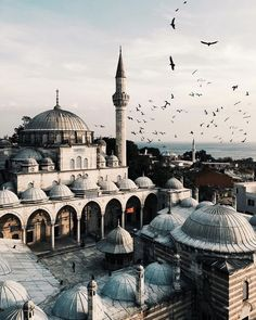 This is a picture of Istanbul. It accurately shows a significant part of the Ottoman Empire because Istanbul was one of the capital cities of the time Oh The Places You'll Go, Places To Travel, Travel Destinations, Places To Visit, Hidden Places, Turkey Destinations, Europe Places, Foto Picture, Nice Picture