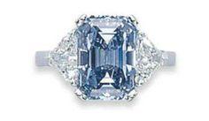 Jewelry Diamond : Fancy Intense Blue diamond with an Internally Flawless clarity grade. - Buy Me Diamond Gems Jewelry, I Love Jewelry, Diamond Jewelry, Jewelery, Fine Jewelry, Jewelry Design, Diamond Pendant, Diamond Rings, Jewelry Box