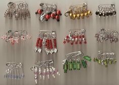 Stitch Markers | Stitch Marker Sets · A Stitch Marker · Jewelry Making on Cut Out ...