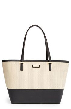 kate spade new york 'cedar street harmony - small' woven tote available at #Nordstrom