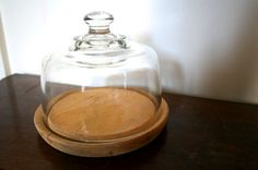 cloche, glass display, bell jar, cheese