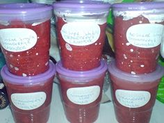 Strawberry Lime Freezer Jam