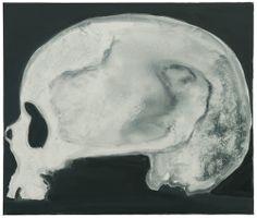 Marlene Dumas, Skull (of a Woman) 2005, oil on canvas, 435/16 x 513/16 in