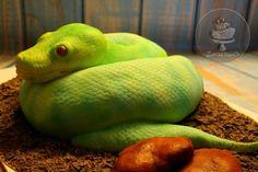 Snake cake - Cake by Zuckersüß