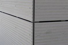 Alternatives To Drywall, External Cladding, Fiber Cement Siding, Architectural Materials, Siding Materials, House Siding, Exterior Siding, Prefab Homes, Construction