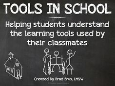 This presentation takes a different spin on disability awareness.  It focuses on the different TOOLS students need to learn in school.  Every student (and teacher!) needs tools in school...