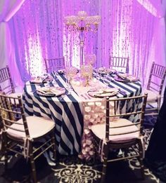Check out the Printed Stripe and Dingle Balls linens with #somethingpink chair pads & napkins! Gorgeous! # #Repost:: Our @topthatevent booth at the #whimsicaloccasions Show last weekend at @theinnatstjohns featuring our Top-Notch table designs and florals with @linenhero #luxuryonloan #mylinenhero #linenhero #topthatevent #wemakeeventsExtraordinary #itswhatwedo #love #instagood#photooftheday#beautiful #inspired#inspiration #eventplanning#party#event#elegance#luxe #eventprofs…