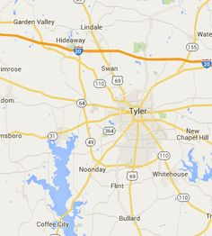 Campgrounds Tyler Texas TX
