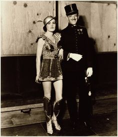 Fred Astaire and his beautiful wife Phyllis, dressed for a costume party - c. 1930s