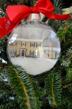 'Home for the Holidays' Photo Christmas Ornament