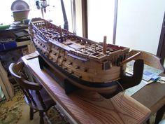 ロイヤル・ジョージ(Royal Georgr) 帆船模型 製作過程(3)
