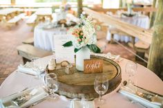 table number, menu card and place cards Wedding Events, Wedding Day, Whiskey Barrels, Paper Companies, Menu Cards, Table Numbers, Decorating Your Home, Outdoor Gardens, Place Cards