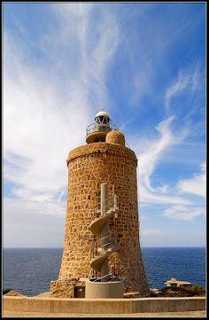 Faro del Camarinal, Zahara de los Atunes(Cádiz):