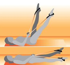 ab exercise with resistance band