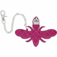 My Flat in London Her Majestys Bee Handbag Charm  available at #Brighton