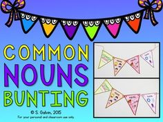Common nouns bunting