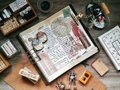 Start small, start now, just start #journalwithme #midori #midoritravelersnotebook #travelersnotebook #travelersnotebookmalaysia #artjournal #foodie #lollalane #stationary #文具 #手帐分享 #手帐