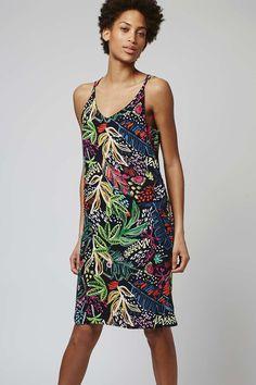 TALL Jungle Print Slip Dress - Tall - Clothing - Topshop USA