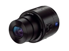 Sony DSC-QX100 Smartphone Attachable Lens-style Camera - US$498 Carl Zeiss lens f1.8 max aperture!  All we need is a remote flash and we're good to go!