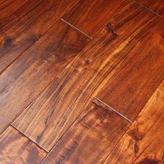 Acacia Sundown x Hand Scraped hardwood flooring at WeShipFloors is a wonderful flooring option for your home or business. White Wood Floors, Real Wood Floors, Wood Laminate Flooring, Wide Plank Flooring, Slate Flooring, Engineered Hardwood Flooring, Flooring Ideas, Acacia Flooring, Interior