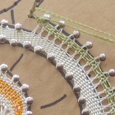 First steps in bobbin lace: begin from scratch di IoCreo su Etsy
