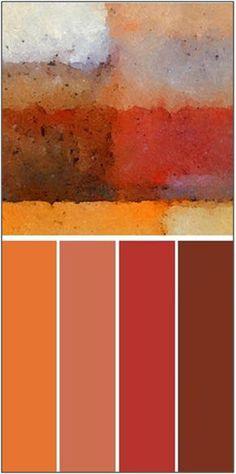 Bonfire Accent Paint Palette Frames On Wall, Framed Wall Art, Paint Palettes, Palette Art, Craft Paint, Wall Paint Colors, Wall Art Sets, Color Pallets, Colour Schemes