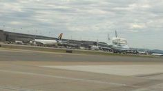 SAA and The Space Shuttle at Dullas Airport IAD