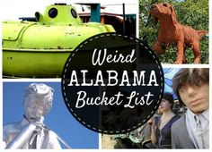 Not your ordinary bucket list: 32 quirky Alabama things to try - Travel Tips Vacation Places, Best Vacations, Places To Travel, Vacation Ideas, Travel Destinations, Weekend Trips, Day Trip, Alabama Vacation, Alabama College