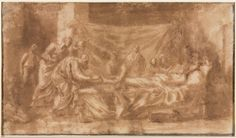 Nicolas Poussin - Extreme Unction (1643-44); Cleveland Museum of Art